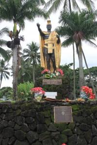 partie Est de Big Island Hawaii Hilo Kamekameha