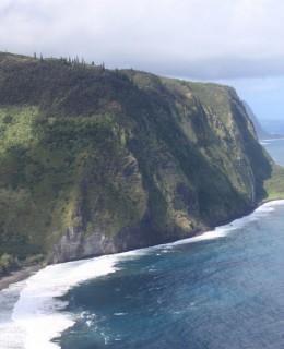 partie Est de Big Island Hawaii Waipi'o Valley