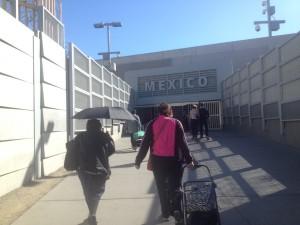 Tijuana frontière mexicaine