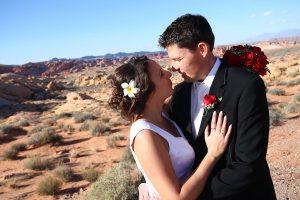 dans le desert les maries