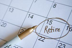 retire date