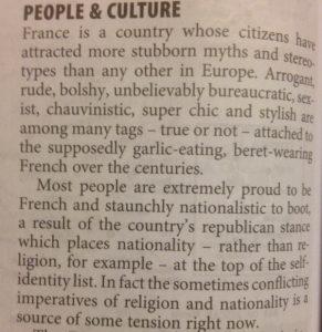 culture française aux Etats-Unis