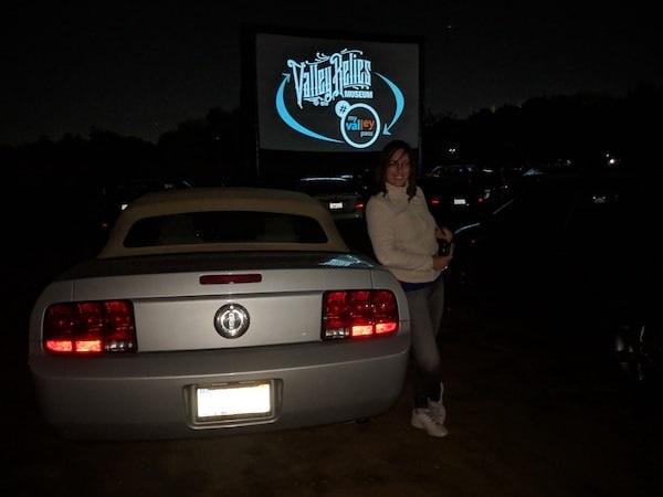Projection du film Christine au Drive In.