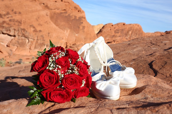 mariage Valley of fire Las Vegas
