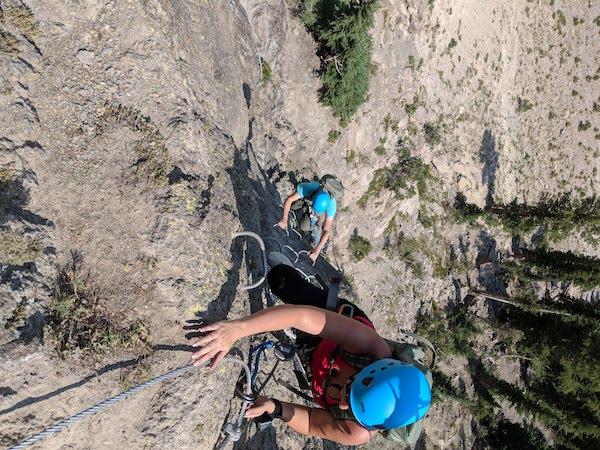 Activités à faire à Mammoth Mountain en été : via ferrata
